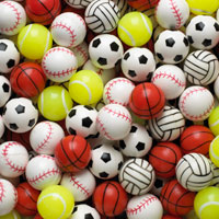 Sports Mix Bouncy Balls
